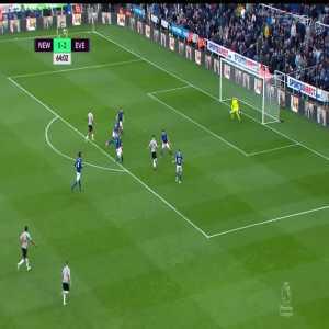 Newcastle United [1]-2 Everton: Rondon