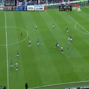 Newcastle United [2]-2 Everton: Ayoze Perez
