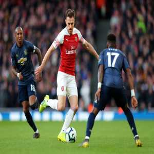 Aaron Ramsey is Premier League Man of the Match [Arsenal v ManUnited]: • 8 tackles - most in match • 12 duels won - most in match • 12.7km covered - most in match Attempted 8 tackles in a PL match for the 1st time since September 2013