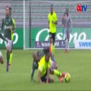 Wahbi Khazri (Saint-Étienne) red card vs. Lille