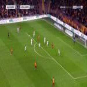 Galatasaray 1-0 Antalyaspor - Sofiane Feghouli 17'
