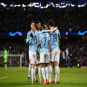 Manchester City's 10-2 aggregate win over Schalke is the biggest ever by an English side in a Champions League knockout tie.