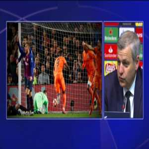 """B. Génésio: """"Before the game I had already said that a lot of things depended on Messi, when he is at such a high level he is one of the best players in the world and he has taken his team to victory, like Cristiano yesterday"""""""