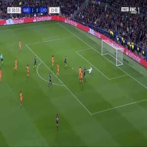 Barcelona 2-0 Lyon [2-0 on agg.] - Philippe Coutinho 31'