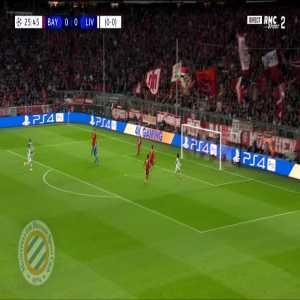 Bayern Munich 0-[1] Liverpool : Mané 26' (agg. 0-1)