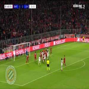 Bayern Munich 1-[2] Liverpool : Van Dijk 69' (agg. 1-2)