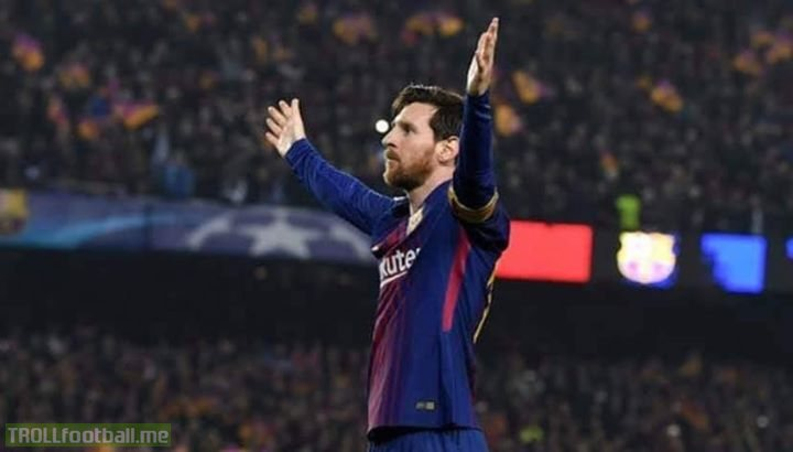 I see a lot of people creating a fuss about Messi not replicating what Ronaldo did in the Champions League yesterday. Although Ronaldo has been brilliant in some of the clutch games in the Champions League and makes up for his slow start each season and yes, you have to hand him that, this claim is still absolutely absurd and erratic to begin with.   Messi has been fundamental in clutch games throughout his career, for instance the brace against Real Madrid to knock them out in the semis, against AC Milan and Arsenal after losing in  the first leg, against Bayern Munich, PSG, Manchester United/City, Juventus, Chelsea and even Tottenham recently. You name it.   Yes, the team has been knocked out in the quarter finals thrice consecutively and Yes, Messi couldn't  score in them, but it all boils down to two reasons. First, positions. Right after Iniesta and Xavi's departures Messi has spent a large part of his career dropping in the midfield almost completely when the team is losing to make up for the loss in midfield's creativity since 2015. The team almost expects Messi to try and supply those mesmeric diagonal lobbed passes or passes between the lines while simultaneously also score those fantastic goals out of nowhere every time the team is losing. For Cristiano, on the other hand, the job is always the same, feed him, and expect him to finish it. You don't expect him to drop deep to create passes for Mandžukić, Dybala, Bale or even Benzema for that matter. While his position and role has always been almost indistinguishable, Messi position's have evolved over the years.  From playing as a winger, to adapting a false nine role under Pep and to ultimately playing as an Enganche (with little defensive duties) under EV (and the later stages of Luis Enrique's tenure). It is not that complicated to comprehend that even though he is still the team's best goal scorer and has the most goals in Europe, it isn't him who should be expected the most to score in these situations if he is taking that role. It is the role of the other forwards to score them (in Barca's case Suarez and the other forward) and it is more fitting especially because Messi has to adapt the role of enganche to cover up the midfield's lack of creativity.   Truth however being that the man's extraterrestrial abilities culminates the real nature of him being an out and out enganche and gives the pseudo image of him being an attacker.   Second reason being, priorities. It is more and more evident by the years that Cristiano and the team he is involved in save him for the crucial encounters in the Champions League and that helps him make up for the terrible start he has at the starting of the season.  Whereas, Messi assumes the mantle of the team since the beginning of the season. For instance, right before the crucial match against Atlético Madrid, Massimiliano Allegri benched him in the match against Udinese which the Bianconeri saw out comfortably with a 4-1 win. EV however fielded out Messi for the whole 90 minutes against Rayo Vallecano knowing about the all important match against Lyon (as he did before Roma). This elaborates the player's and the team's priorities and is also another reason why both the players have a a different footballing dimensional season-wise.  Saying that, I hope the man's profound abilities again proves the ones that are doubting him wrong because he isn't to be judged by the aspects that make other players shine in. We know what he has done in the past and what he promised for this season, and I would dare not underestimate him.  Over to you Leo.