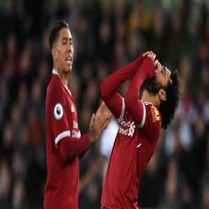 Just one of the last 33 Champions League shots by Liverpool's front three of Mohamed Salah, Roberto Firmino and Sadio Mane has found the net.
