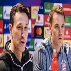 Kovac: Manuel Neuer could also play in other positions. When we had some injury problems I thought about using him as outfield player. But he is our life insurance in goal.