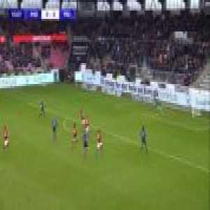 Midtjylland U19 1-0 Manchester United U19 - Gustav Isaksen 11'