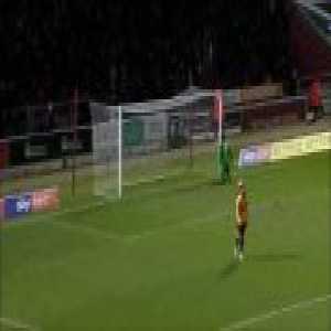 Northampton Town 1 - 0 Newport County - Joe Powell 88'