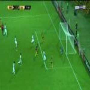 Carlos Lampe penalty save - Penarol 4-0 San Jose - Copa Libertadores