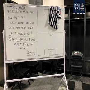 """Class from Monterrey as they best Atlanta United on aggregate in Champions League: """"Thank you so much for your hospitality, We're positive we will meet each other again. #EnLaVidaYEnLaCancha"""""""