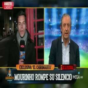 """Mourinho: """"Zidane is perfect for Madrid & this is perfect for himself for another great opportunity to show how good he is with a new project in principal after the fantastic things he's achieved in recent years. I think it's perfect & fantastic."""" (cont below)"""