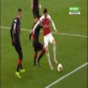 Ozil backheel nutmeg vs Rennes.
