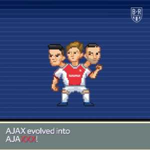 Again a great social post from Ajax's social media team: Real Madrid vs. Ajax Amsterdam Pokémon edition!