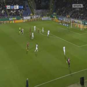Cagliari 1-0 Fiorentina - Joao Pedro 52'