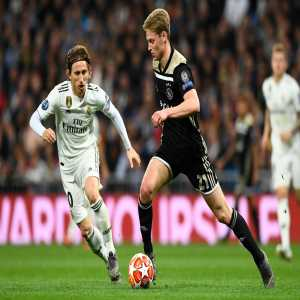"""Frankie De Jong on facing Ronaldo in UCL quarter finals - """"When I was around 10–12 years old, Cristiano Ronaldo was already one of the best players in the world. So it is nice that I will now face him for real."""""""