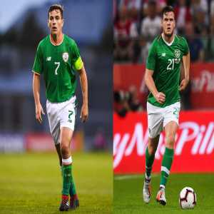 Josh Cullen and Kevin Long called up by Ireland - to replace the injured Alan Browne and Ronan Curtis