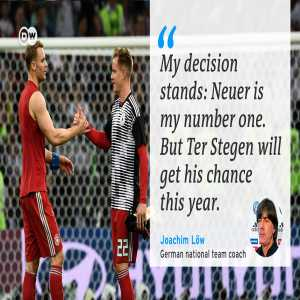 My decision stands: Neuer is my number one. But Ter Stegen will get his chance this year-Joachim Low