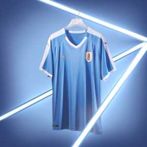 PUMA release new Uruguay 2019 kits which feature an iconic design that celebrates the status of 'La Celeste' as the most successful team in South America.