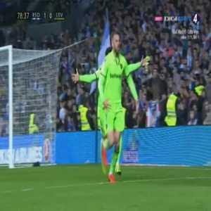 Real Sociedad 1-[1] Levante - Borja Mayoral 79'