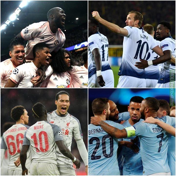 UEFA Champions League quarter-final draw  Tottenham Hotspur v Manchester City   Liverpool FC v Porto Barcelona v Manchester United  Ajax v Juventus