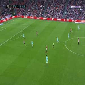 Athletic Bilbao 1-0 Atlético Madrid - Inaki Williams 73'