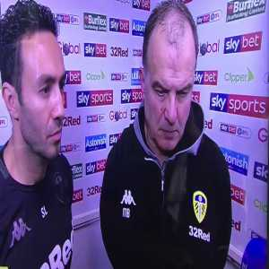 Bielsa rattles Sky Sports journalist his post match.