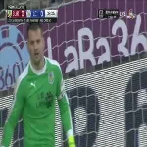 Burnley 0-1 Leicester City - James Maddison free kick 33'