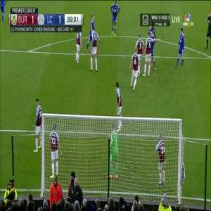 Burnley 1-[2] Leicester City - Wes Morgan 90'