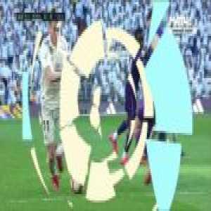 Gareth Bale yellow card vs Celta 45'
