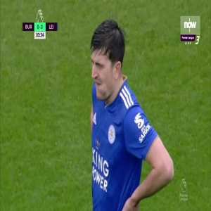Harry Maguire Straight Red Card Against Burnley