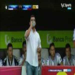 Hernan Lamberti great free kick(7') - Platense [1]-0 Arsenal - Argentina Primera B