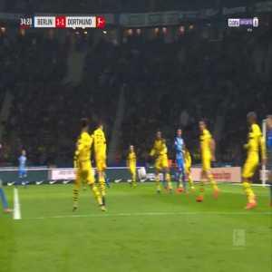 Hertha [2]-1 Dortmund - Salomon Kalou penalty 35'