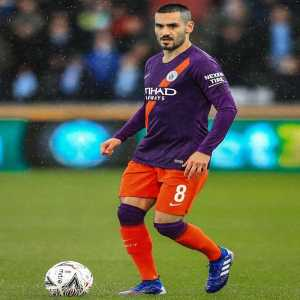 """IIkay Gündogan - """"A little bit of luck was on our side tonight ... to be honest 😬🙈 Nevertheless very, very happy to reach the semi finals of the FA Cup"""""""