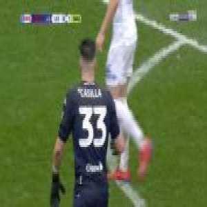 Kiko Casilla (Leeds) straight red card against Sheffield United 90'+1'