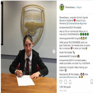 Mexican wonder kid Marcelo Flores, signs for Arsenal from Ipswich Town.