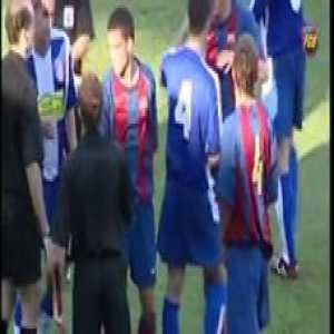 On this day in 2004, a 16 year old Lionel Messi made his debut for Barcelona B.