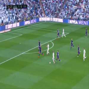 Real Madrid 2-0 Celta Vigo - Gareth Bale 77'