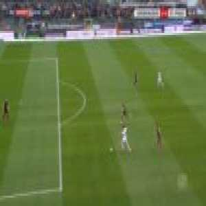 Sandhausen 2-0 St. Pauli - Philipp Forster 43'