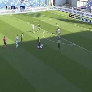 Sassuolo 0-2 Sampdoria - Fabio Quagliarella 36'
