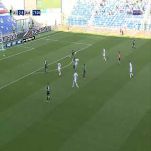 Sassuolo 2-[5] Sampdoria - Manolo Gabbiadini 72'