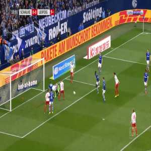 Schalke 0-1 RB Leipzig - Timo Werner 14'