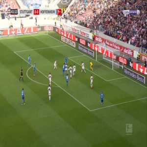 Stuttgart 0-1 Hoffenheim - Andrej Kramaric 42'