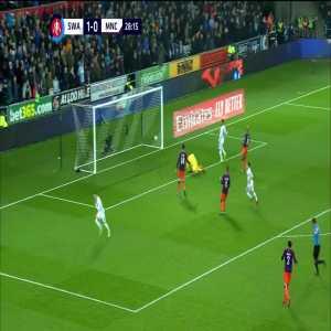 Swansea 2-0 Manchester City: Celina