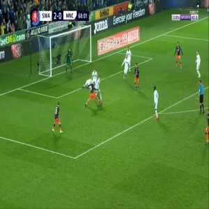 Swansea 2-[1] Manchester City - Bernardo Silva 69'