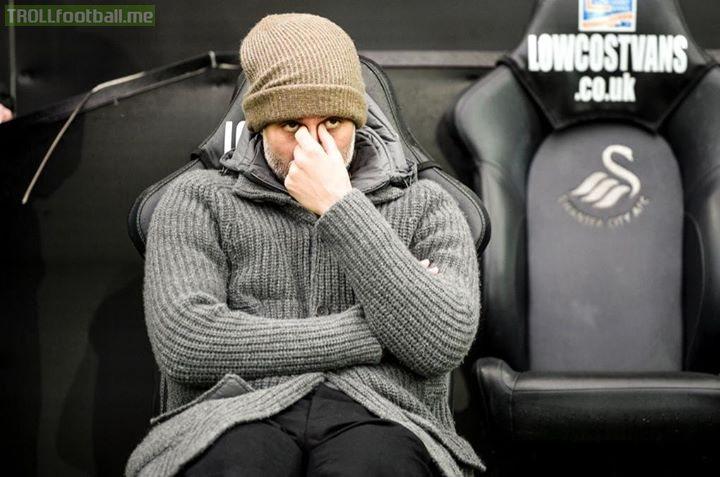Tuesday: Manchester City 7-0 Schalke   Saturday: Swansea City 2-0 Manchester City (29')