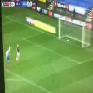 Wigan Athletic comedy goal vs Bolton Wanderers