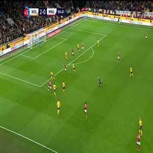Wolves 2-[1] Manchester United: Rashford 90+5'